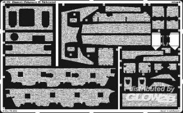 Zimmerit Flakpanzer IV Wirbelwind [Tamiya] · EDU 35451 ·  Eduard · 1:35