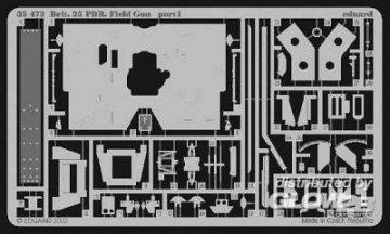 Britische 25-Pfünder Feldkanone  · EDU 35473 ·  Eduard · 1:35