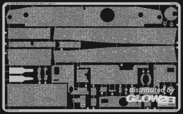 SD.Kfz 181 Tiger I Zimmerit · EDU 35490 ·  Eduard · 1:35