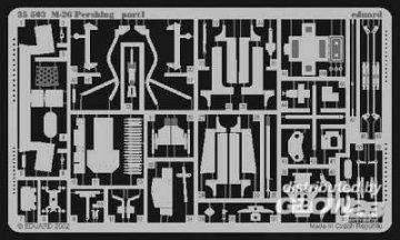 M-26 Pershing · EDU 35503 ·  Eduard · 1:35