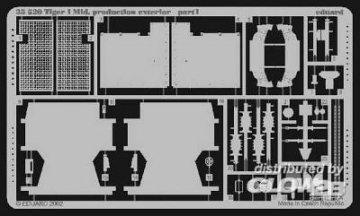 SD.Kfz 181 Tiger I · EDU 35520 ·  Eduard · 1:35