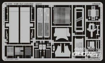 VAB 4x4 - Exterior · EDU 35535 ·  Eduard · 1:35