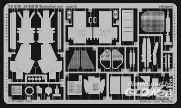 SCUD B - Exterior Set · EDU 35539 ·  Eduard · 1:35