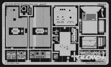 SCUD B - Interior Set · EDU 35540 ·  Eduard · 1:35
