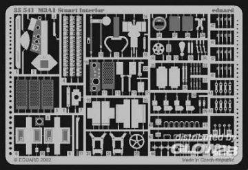M3A1 Stuart Inneneinrichtung  · EDU 35541 ·  Eduard · 1:35