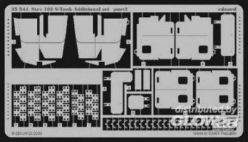 Strv 103 S-Tank  · EDU 35544 ·  Eduard · 1:35