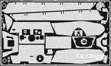 Zimmerit King Tiger Porsche turret · EDU 35564 ·  Eduard · 1:35
