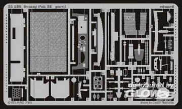 Demag D7 mit Pak 38 für Italeri Bausatz 36383 · EDU 35586 ·  Eduard · 1:35