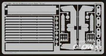 M-1A1 Absaugventilatorabdeckung Irak  · EDU 35600 ·  Eduard · 1:35