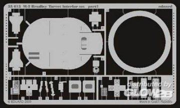 US M2 Bradley iFV Turm Inneneinrichtung Fotoätzsatz · EDU 35613 ·  Eduard · 1:35