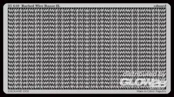 Stacheldraht Razor II. (8m)  · EDU 35640 ·  Eduard · 1:35
