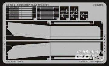 Crusader Mk.I Schutzvorrichtungen Fotoätzsatz · EDU 35661 ·  Eduard · 1:35