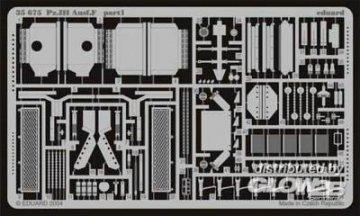 Pz.III Ausf. F für Zvezda Bausatz 3571 · EDU 35675 ·  Eduard · 1:35
