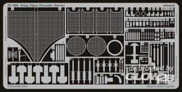 Sd.Kfz. 182 Königstiger Porsche Turm  · EDU 35680 ·  Eduard · 1:35