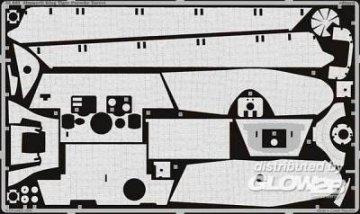 Zimmerit King Tiger Porsche Turret · EDU 35683 ·  Eduard · 1:35