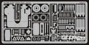 D-30 122 mm Gun [Skif] · EDU 35686 ·  Eduard · 1:35
