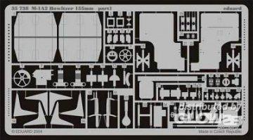M1-A2 Howitzer 155mm  · EDU 35738 ·  Eduard · 1:35