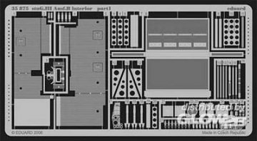 StuG.III  Ausf.B - Interior [Tamiya]. · EDU 35875 ·  Eduard · 1:35