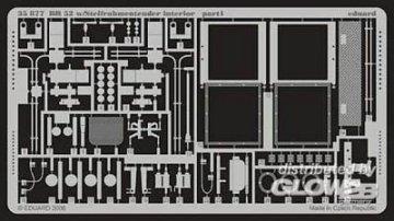 BR 52 w/Steifrahmentender - Interior [Trumpeter] · EDU 35877 ·  Eduard · 1:35