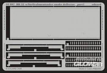 BR 52 smoke deflector [Trumpeter] · EDU 35897 ·  Eduard · 1:35