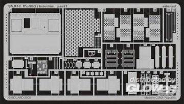 Pz.38(t) - Interior [Tristar] · EDU 35914 ·  Eduard · 1:35