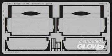 Centurion Mk.571 - Toolboxes [AFV-Club] · EDU 35932 ·  Eduard · 1:35