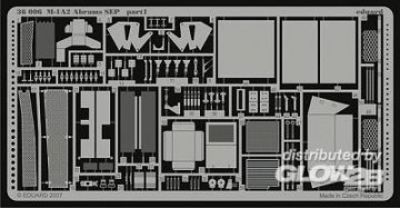 M-1A2 Abrams SEP [Dragon] · EDU 36006 ·  Eduard · 1:35