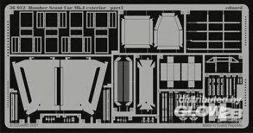 Humber Scout Car Mk.I - Exterior [Bronco Models] · EDU 36012 ·  Eduard · 1:35