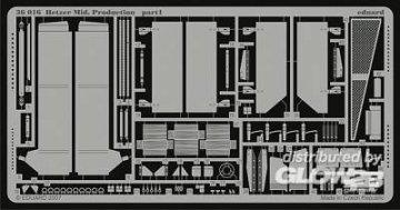 Hetzer Mid. Production [Tamiya] · EDU 36016 ·  Eduard · 1:35