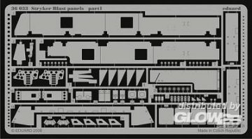 Stryker - Blast panels [Trumpeter] · EDU 36033 ·  Eduard · 1:35