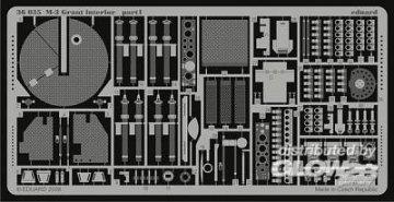 M-3 Grant - Interior [Academy] · EDU 36035 ·  Eduard · 1:35