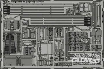 Flakpanzer 38 (Gepard) - Exterior [Italeri] · EDU 36046 ·  Eduard · 1:35