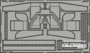 M-7 Priest - Fenders [Academy] · EDU 36055 ·  Eduard · 1:35