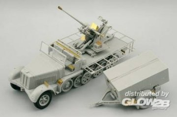 Sd.Kfz.7/2 (early) 37mm Flak 37 [Trumpeter] · EDU 36104 ·  Eduard · 1:35
