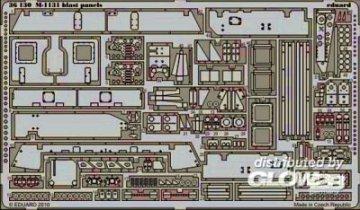 M-1131 - Blast panels [Trumpeter] · EDU 36130 ·  Eduard · 1:35