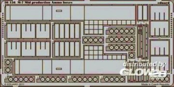 M-7 Mid production ammo boxes [Dragon] · EDU 36156 ·  Eduard · 1:35