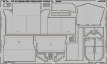 M-7 Mid production deep wate fording [Dragon] · EDU 36157 ·  Eduard · 1:35