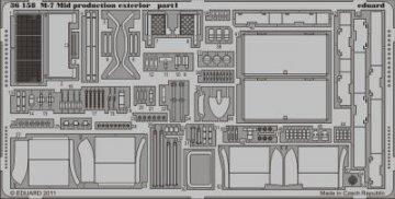 M-7 Mid production - Exterior [Dragon] · EDU 36158 ·  Eduard · 1:35