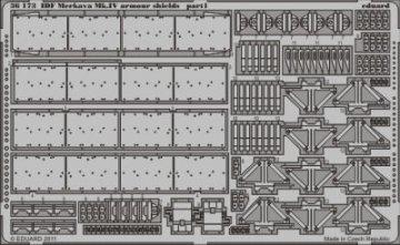 IDF Merkava Mk.IV armour shields [HobbyBoss] · EDU 36173 ·  Eduard · 1:35
