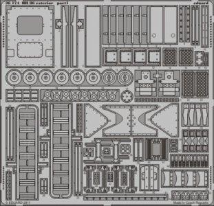 BR-86 - Exterior [Trumpeter] · EDU 36174 ·  Eduard · 1:35