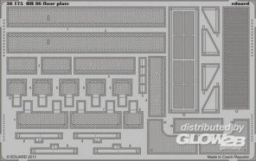BR 86 - Floor plate [Trumpeter] · EDU 36175 ·  Eduard · 1:35