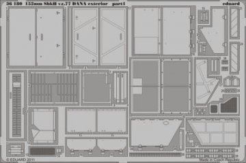 152mm ShkH vz.77 DANA - Exterior [HobbyBoss] · EDU 36180 ·  Eduard · 1:35