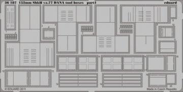 152mm ShkH vz.77 DANA - Toolboxes [HobbyBoss] · EDU 36187 ·  Eduard · 1:35