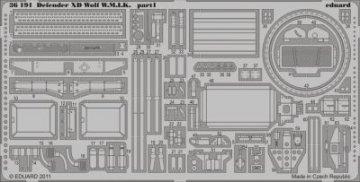 Defender XD Wolf W.M.I.K. [HobbyBoss] · EDU 36191 ·  Eduard · 1:35
