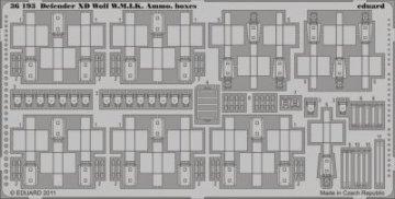 DefenderXD Wolf W.M.I.K. Ammo Boxes [HobbyBoss] · EDU 36193 ·  Eduard · 1:35