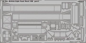 British Light Tank Mark VIB [Vulcan] · EDU 36203 ·  Eduard · 1:35