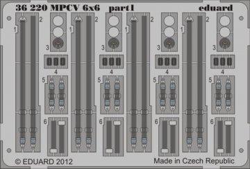 MPCV 6x6 [Bronco Models] · EDU 36220 ·  Eduard · 1:35