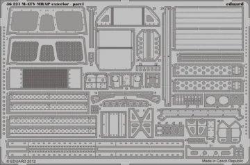 M-ATV MRAP - Exterior [Kinetic] · EDU 36221 ·  Eduard · 1:35