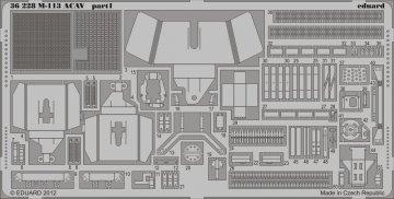 M-113 ACAV [Italeri] · EDU 36228 ·  Eduard · 1:35