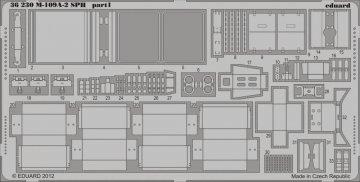M-109A-2 SPH [Kinetic] · EDU 36230 ·  Eduard · 1:35